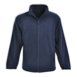 Mens Classic Microfibre Polar Fleece Blue