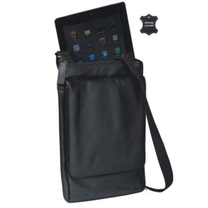 Messenger Ipad Bag Black