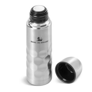 Gray House Branded Flask Branded Meteor