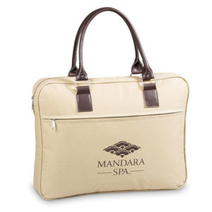 Metro Laptop Bag Beige
