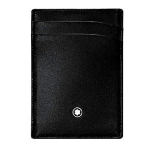Montblanc Pocket Holder 2CC with Money Clip Black