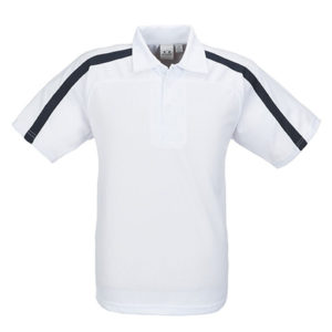 Monte Carlo Golf Shirt Mens White