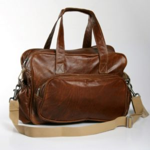 Leather Toddler Nappy Bag