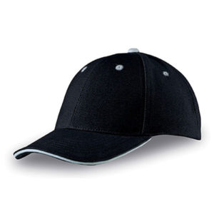 Newcastle 6 Panel Cap Black