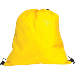 Non-Woven Drawstring Bag Yellow