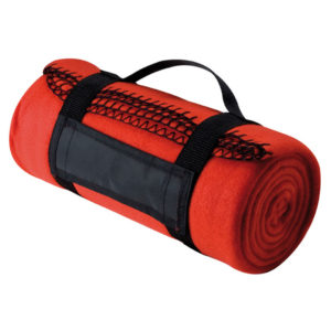 Picnic Blanket with Carry Strap Orange