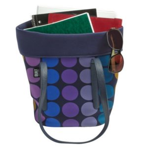 Plum Dot Lunch Tote 1