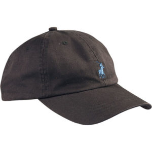 Polo Peak Cap Black