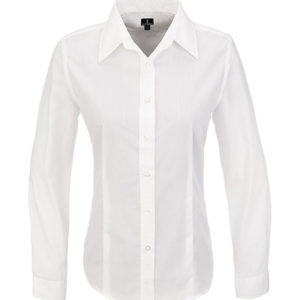 Preston Long Sleeve Shirt Ladies White
