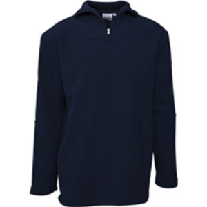 Quarter Zip Sweater Mens Navy