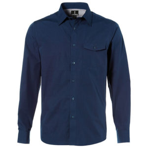Ralston Long Sleeve Shirt Mens Navy