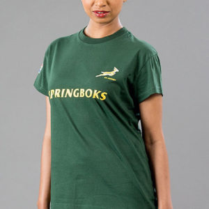 SA Rugby Basic T-Shirt Ladies Green