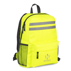 Gray House Promotions Safezone High-Visibility Backpack 01