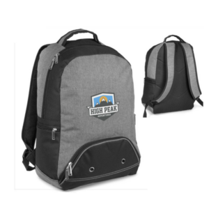 Gray House Promotions Branded Saturn Tech Backpack