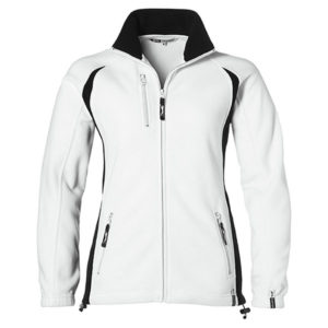 Slazenger Apex Fleece Jacket Ladies White