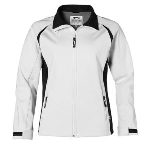 Slazenger Apex Soft Shell Jacket Ladies White
