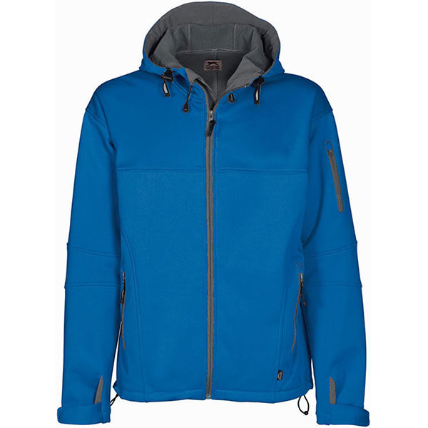 Slazenger Catalyst Soft Shell Jacket Ladies Blue