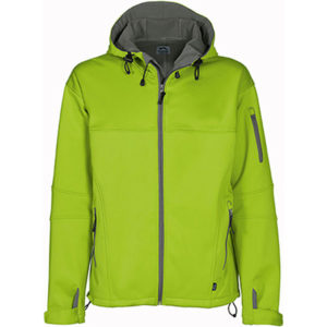 Slazenger Catalyst Soft Shell Jacket Mens Lime