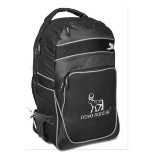 Gray House Promotional Slazenger Competiton Tech Backpack