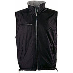 Slazenger Reversible Body Warmer Mens Black