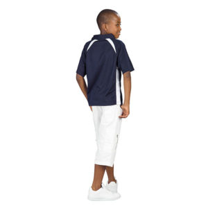Splice Golf Shirt Kids Black