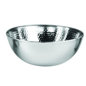 Stainless Steel Wooden Bowl