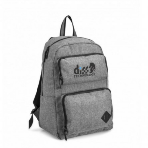 Gray House Branded Steele Tech Backpack