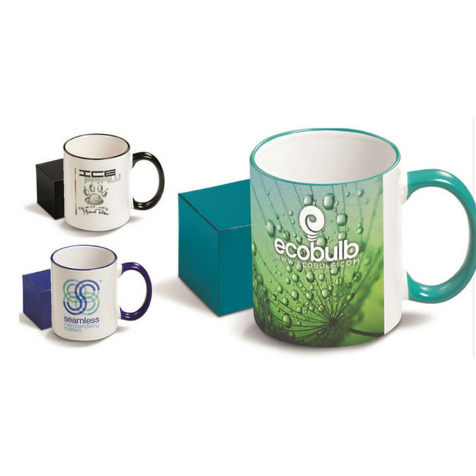Gray House Corporate Promotional Branded Mugs