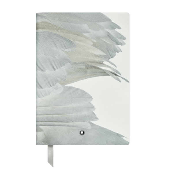 Gray House Swan Illusion Notebook