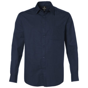 Sycamore Long Sleeve Shirt Mens Navy