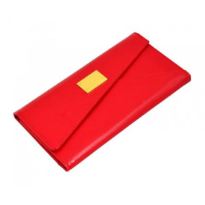 Travel Wallet Slim Radient Red
