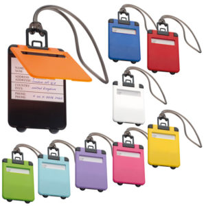 Trendy Suitcase Shaped Luggage Tag