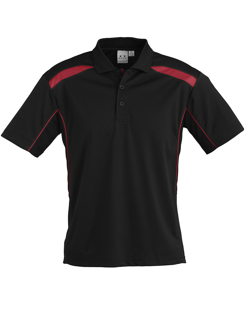 United golf shirt mens gray house promotions for Black golf polo shirt
