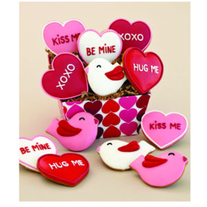 Valentines Day Cookies Hamper