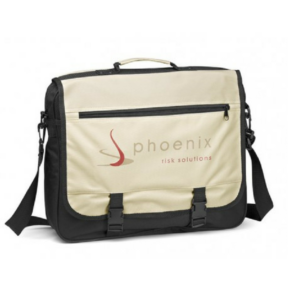 Gray House Xenon Messenger Bag