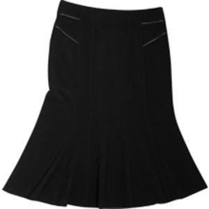 Yasmin Flare Skirt Ladies Black