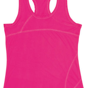 Zola Running Vest Ladies Pink